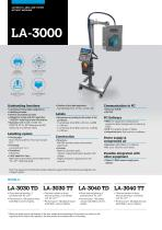 AUTOMATIC LABELLERS LA-3000 SERIES