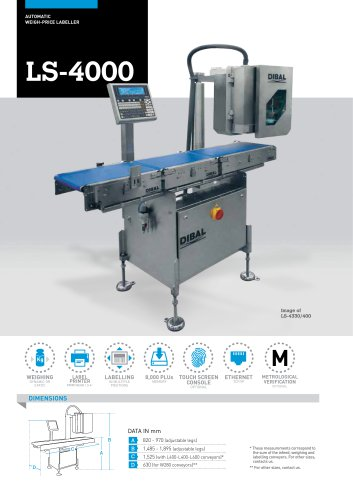AUTOMATIC LABELLERS LS-4000 SERIES