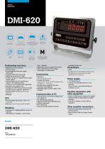 DMI-620 WEIGHT INDICATORS