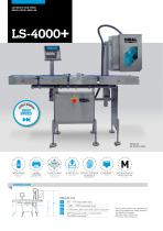 HIGH SPEED AUTOMATIC LABELLERS LS-4000+ SERIES