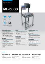 ML-3000 - MANUAL LABELLING MACHINE