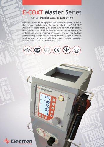 E-Coat Master Powder Coating Machine
