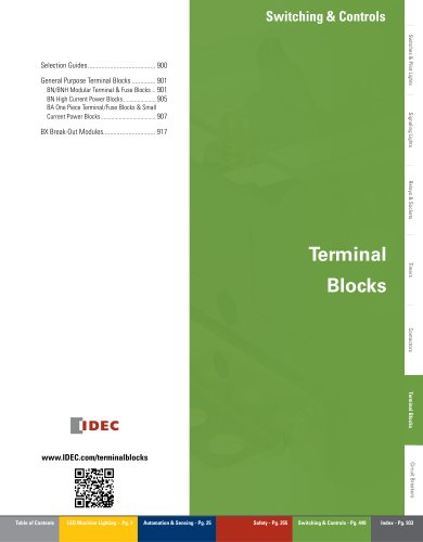 Complete Terminal Blocks Catalog