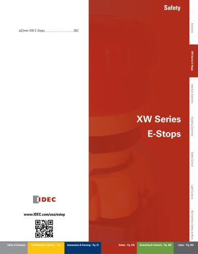 Complete X Series E-Stops Catalog