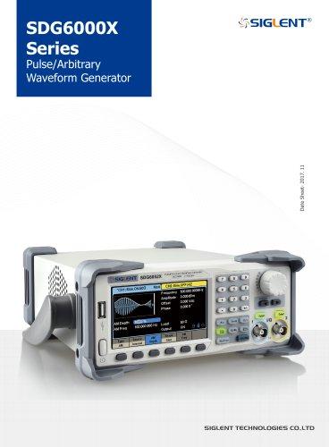 SDG6000X Series Pulse/Arbitrary Waveform Generator Datasheet