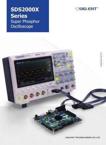 SDS2000X Series DataSheet+Digital Oscillscope+Siglent