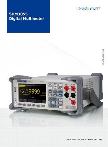 Siglent Digital Multimeter SDM3055 Datasheet
