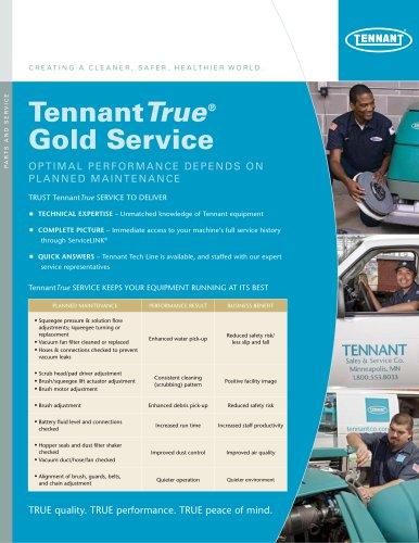Gold Service Plan Brochure