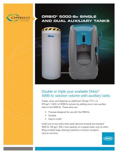 ORBIO® 5000-Sc SINGLE AND DUAL AUXILIARY TANKS