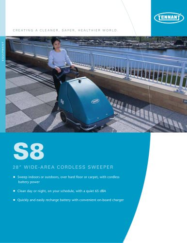S8 Wide Area Battery Sweeper