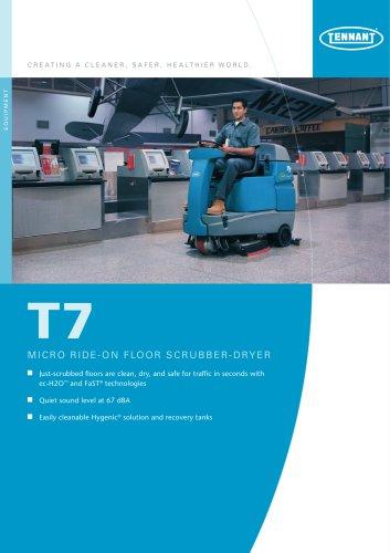 T7 Battery ride-on scrubber-dryer