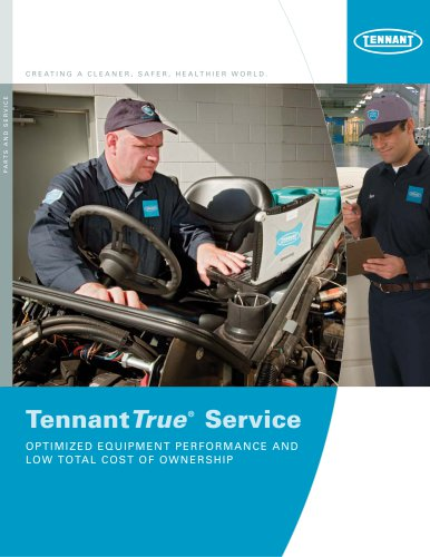TennantTrue Service Brochure