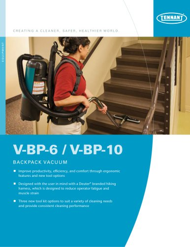 V-BP-6 / V-BP-10 Brochure