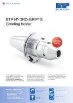 ETP HYDRO-GRIP S Grinding holder - 1
