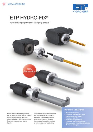 HYDRO-FIX hydraulic clamping sleeve