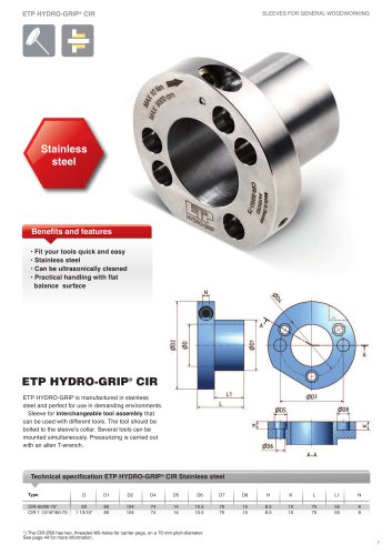 HYDRO-GRIP-CIR-PRODUCT-SHEET