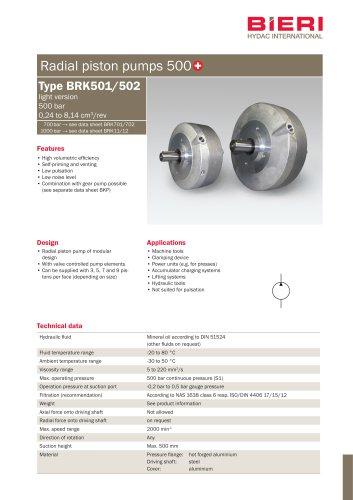 Type BRK501/502