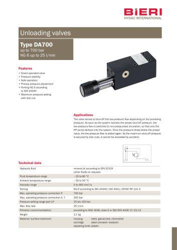 Type DA700