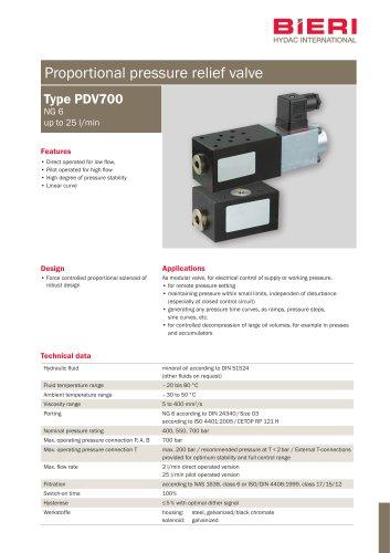 Type PDV700