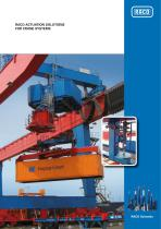 RACO ACTUATION SOLUTIONS FOR CRANE SYSTEMS - 1
