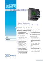 RACO Controller RCM 100 - 1
