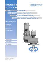 Rotary ActuatorDM IV - 1