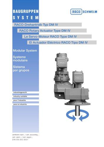 Rotary ActuatorDM IV