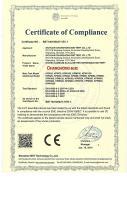 CHANGHONG NI-CD BATTERY CE CERTIFACATE - 1