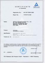 CHANGHONG nickel cadmium battery IEC60623-KPX