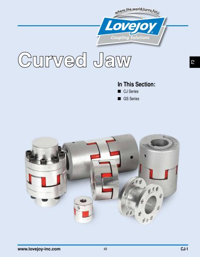 Curved Jaw Couplings Catalog