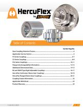 HercuFlex Couplings Catalog - 3