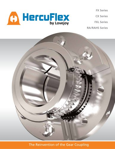 HercuFlex(TM) Gear Coupling Catalog