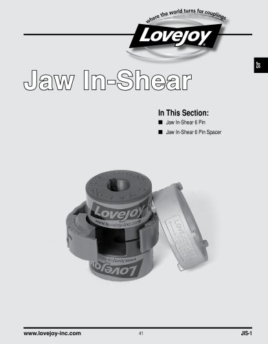 Jaw In-Shear catalog