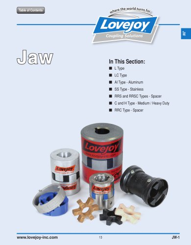 Jaw Type Catalog