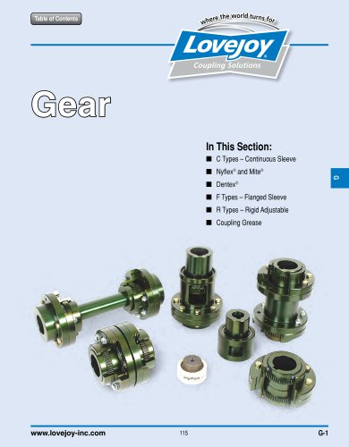Lovejoy / Sier-Bath Gear Catalog