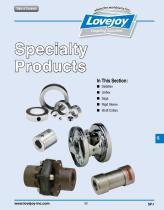 Specialty catalog - 1