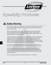 Specialty catalog - 2