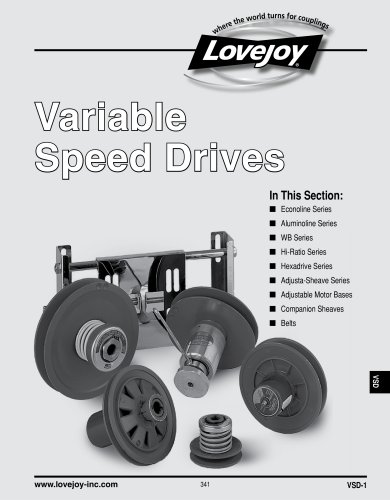 Variable Speed Drives (VSD catalogue)