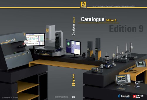 Catalogue Sylvac E9 EN (2016)