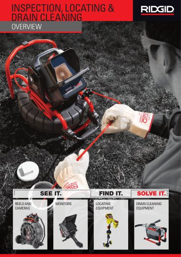 Brochure:inspection ,locating and drain cleaning