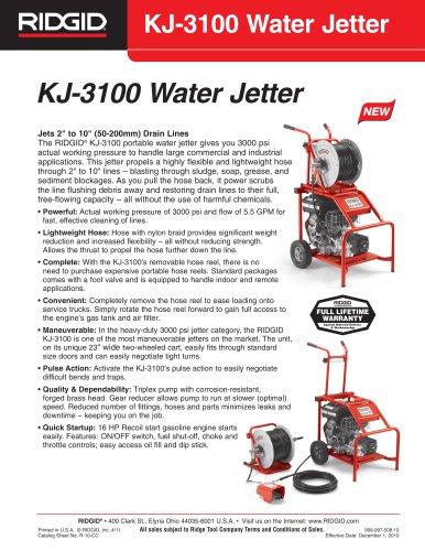 KJ-3100 Water Jetter