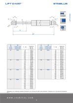 Standard program for gas springs - 11