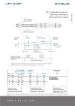 Standard program for gas springs - 7