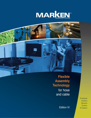 Flexible  Assembly Technology for hose  and cable