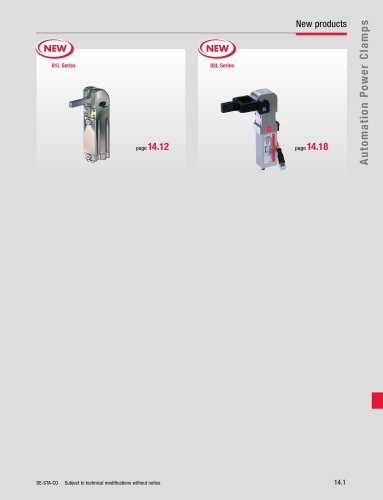 Automation Power Clamps Catalog