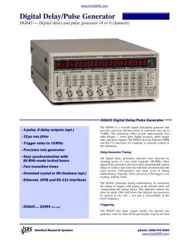 Digital Delay / Pulse Generator