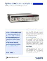 DS360 Low Distortion Function Generator