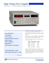 PS300 High Voltage Power Supplies