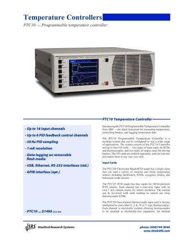PTC10 Programmable Temperature Controller