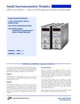 SIM922A/923ATemperature Monitors